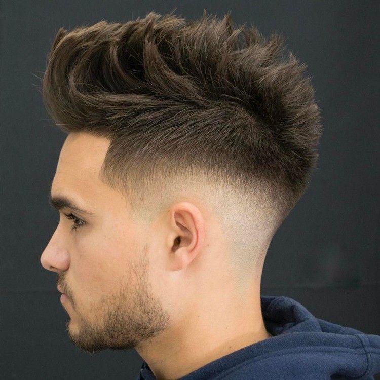 Mannerfrisur Mittlerer Ubergang Undercut Modern Hairstyles Hair