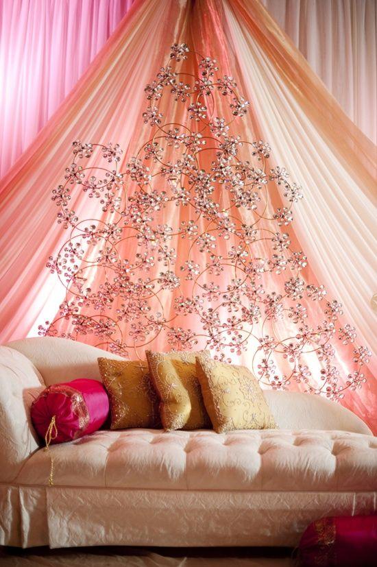 Pretty peach wedding stage decor wedding decor pinterest pretty peach wedding stage decor junglespirit Choice Image