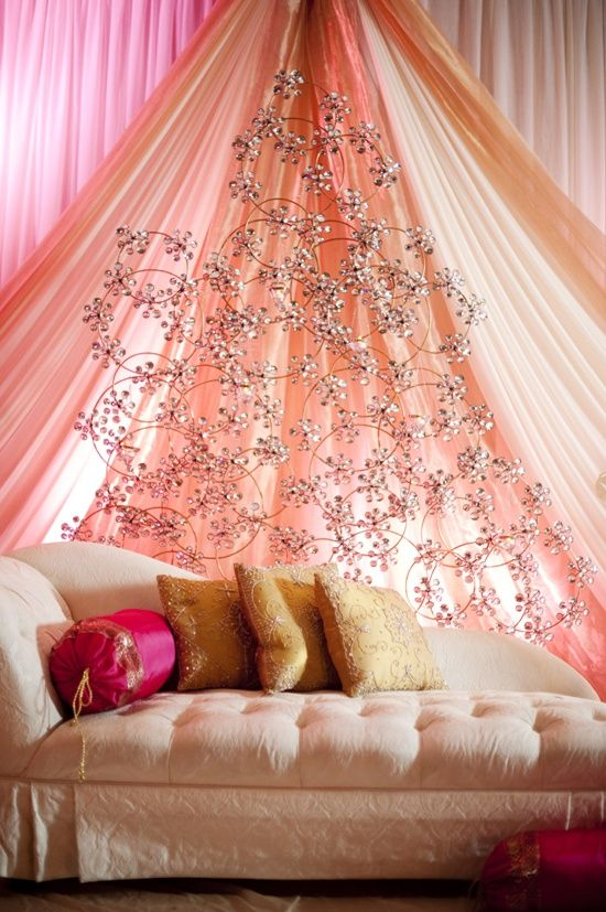 Pretty peach wedding stage decor wedding decor pinterest pretty peach wedding stage decor junglespirit Images