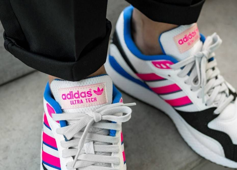 official photos e07c5 e6d53 adidas Ultra Tech (Crystal White   Shock Pink   Core Black)
