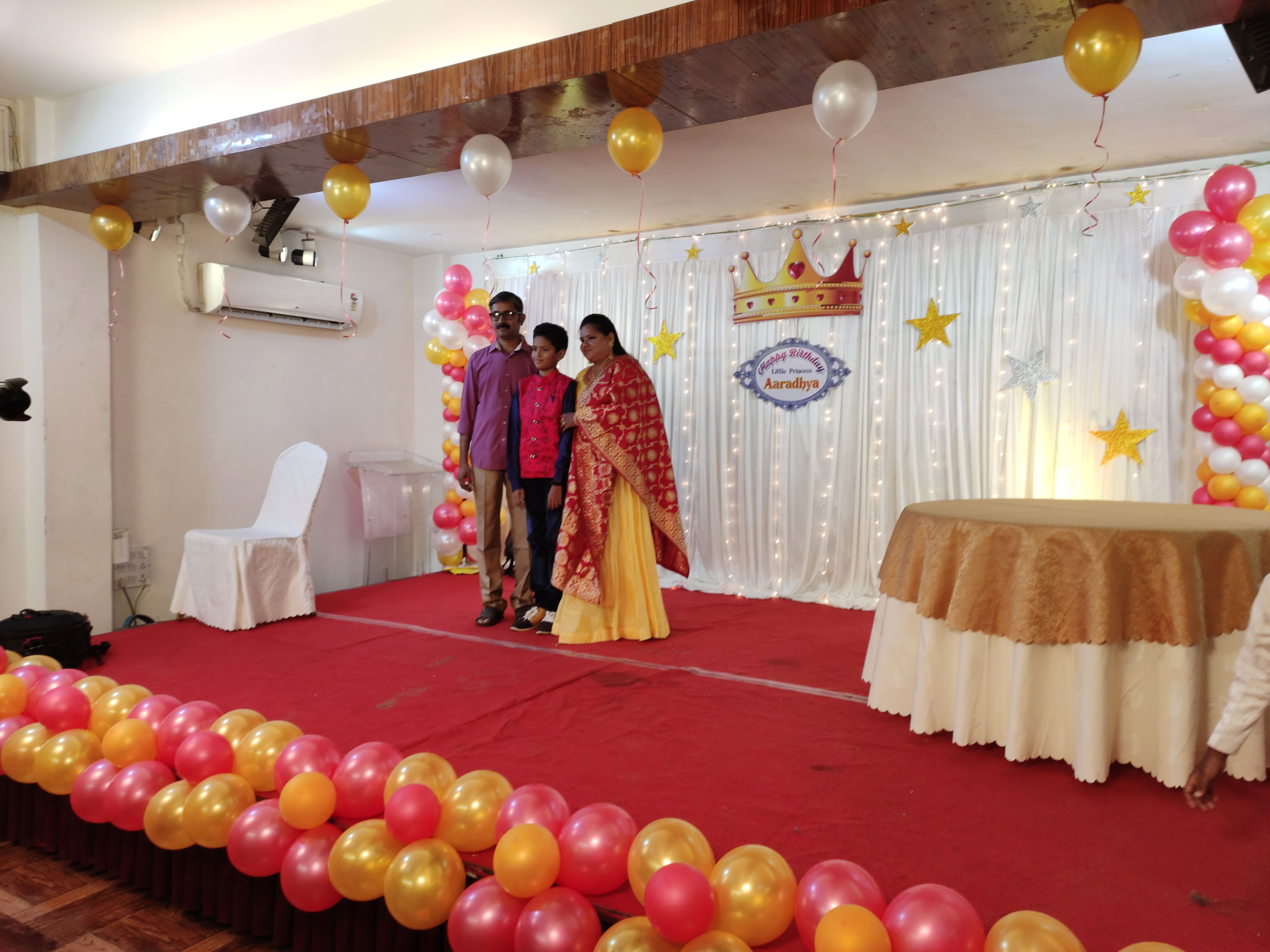 Theme Birthday Party Hall Banquet Hall In Chennai Birthday Party Halls Party Hall Birthday Party