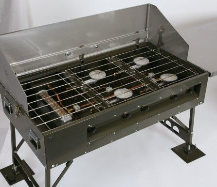 Field Catering - Gas (LPG) cooking equipment - Portable Kitchen CF85 ...
