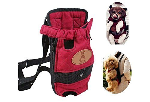Pet Dogs Cats Carrier Backpack Canvas Front Bag Legs Out SizeSML Size M -- Find out more about the great product at the image link.