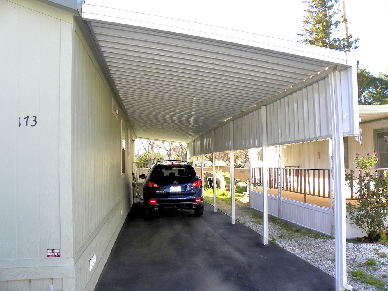 mobile home awnings patio covers and