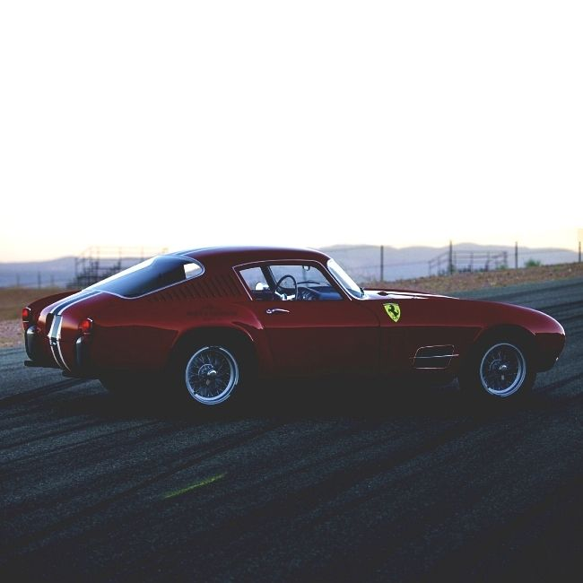 1958 Ferrari 250 GT TdF Berlinetta | 1 Louvre | Tour de France | Series IV | Long Wheelbase Coupe | Scaglietti | Pininfarina | 3.0L Tipo 128 C V12 260hp | Chassis No 0881GT | Covered Lights | Fins | Only 36 units of this model were produced