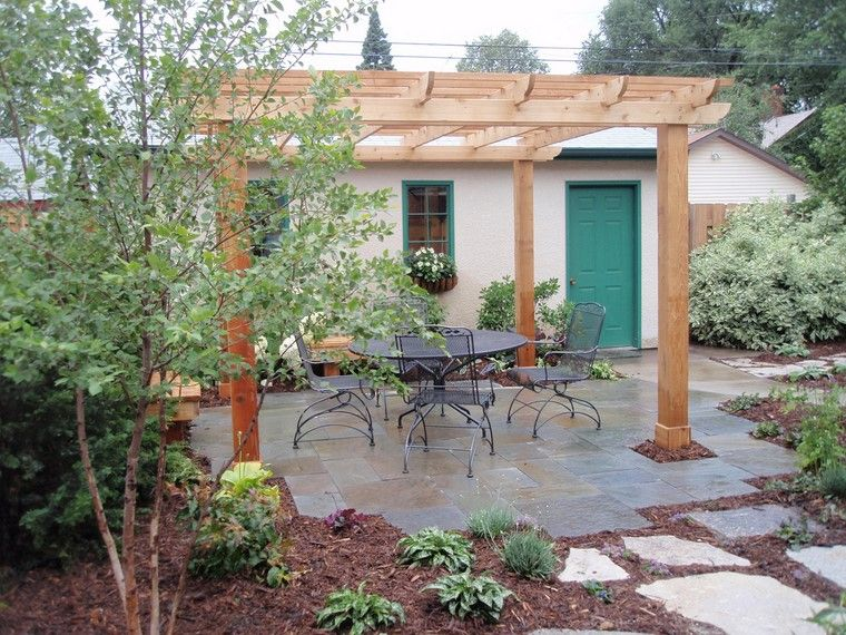 Pérgolas jardines terrazas con estilo muy modernas | Pérgola de ...
