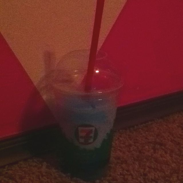 Words Cannot Describe How Much I Love The Blue Icee's<3