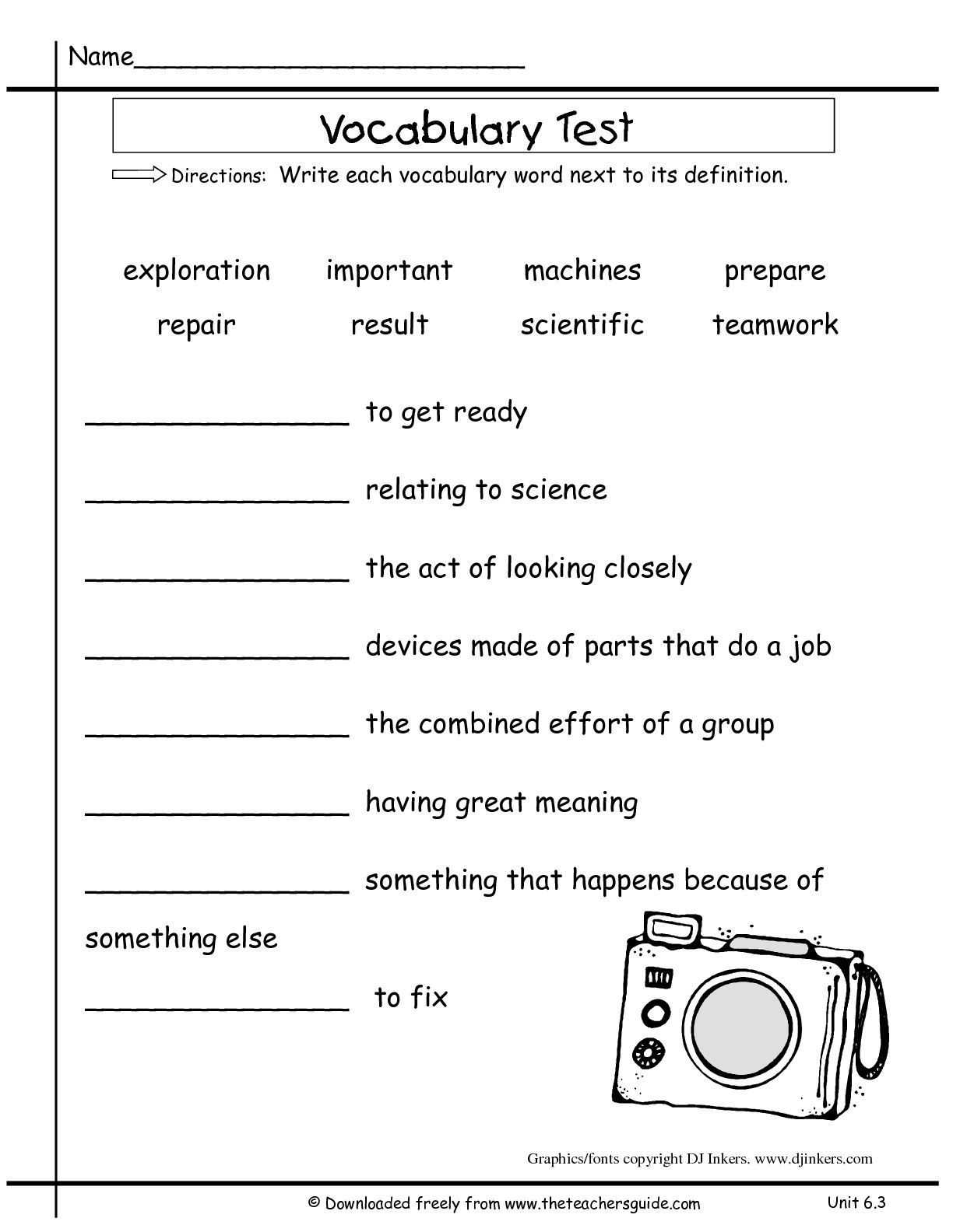 1st Grade Geography Worksheets