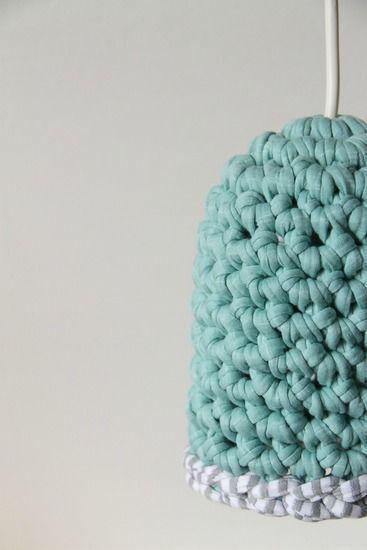 Crochet Light Crochet Lamp Wool Crafts Crochet