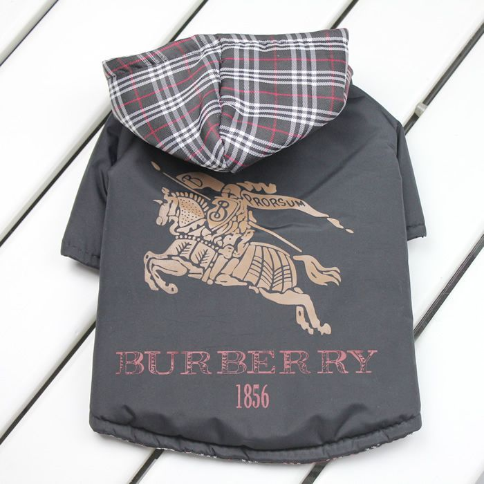 Burberry Dog Coat Dog Coats Dog Jacket Dog Clothes