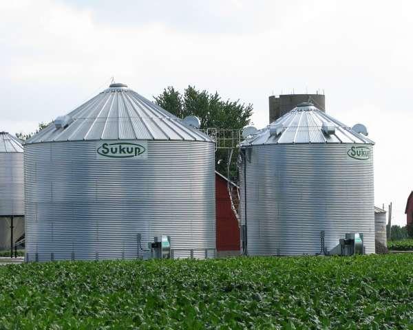 Grain Storage Bins Built By Devolder Farms Grain Storage
