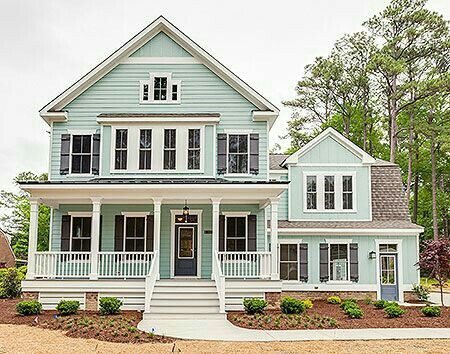 Love This Modern Farm House Pic 1 Front View Open Floor Plan Farmhouse Modern Farmhouse Plans House Plans
