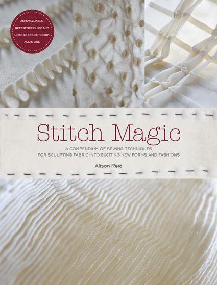 beautiful sculptural stitching techniques!