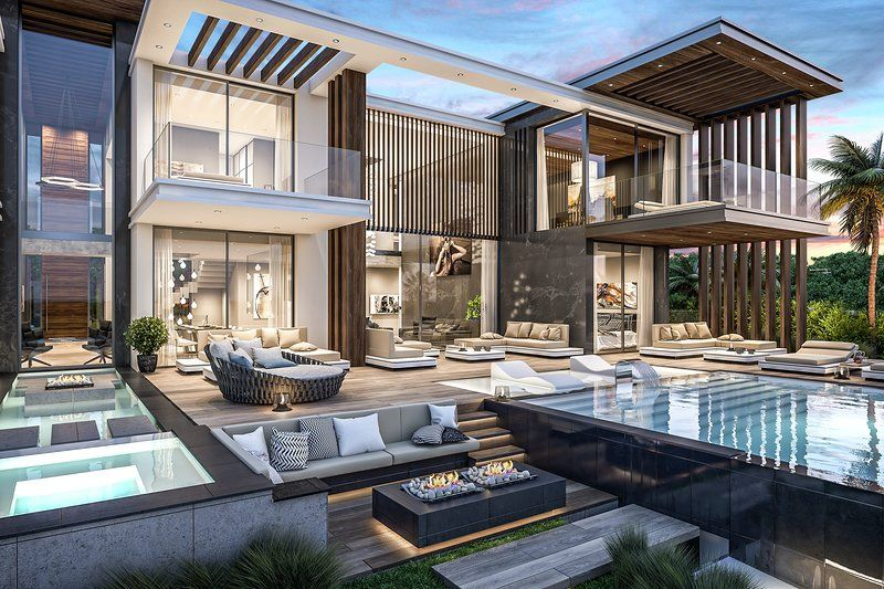 Modern Villa With Beautiful Seaview In Los Flamingos Modern Villas Best Modern House Design House Designs Exterior Architecture House
