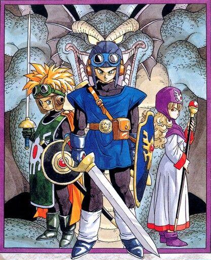 Dragon Quest II cast | 鳥山明 | Dragon quest 2, Dragon quest, Dragon