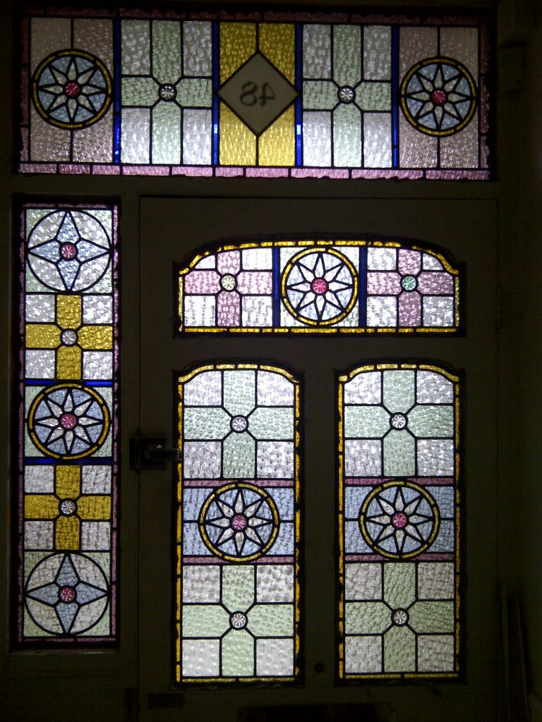 Glass windows and doors  edwardian stained glass windows with numbers  Google Search  Stain