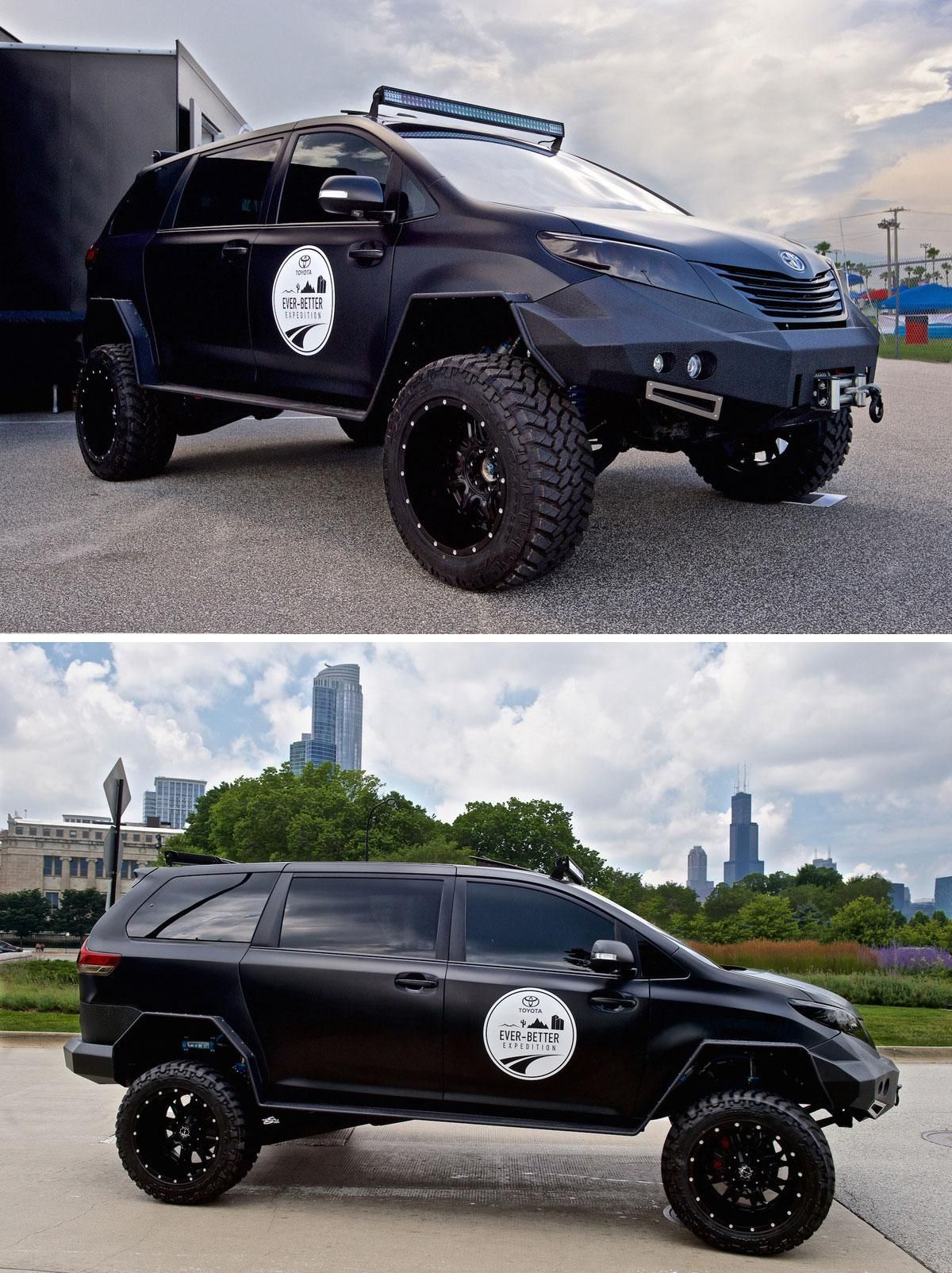 Toyota builds an all terrain minivan just because it can new cars of all kinds pinterest minivan toyota and nissan maxima
