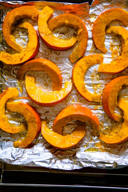 Würziger Ofenkürbis und ofengeröstete Karotten - Aromabomben #herbstgerichte