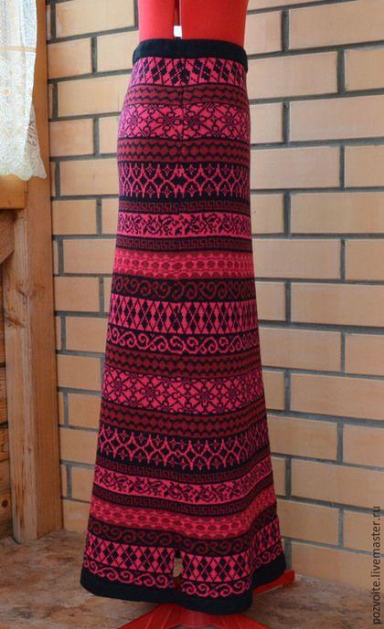 efc0b12b278 Юбки ручной работы. Ярмарка Мастеров - ручная работа. Купить Вязаная  длинная юбка. Handmade