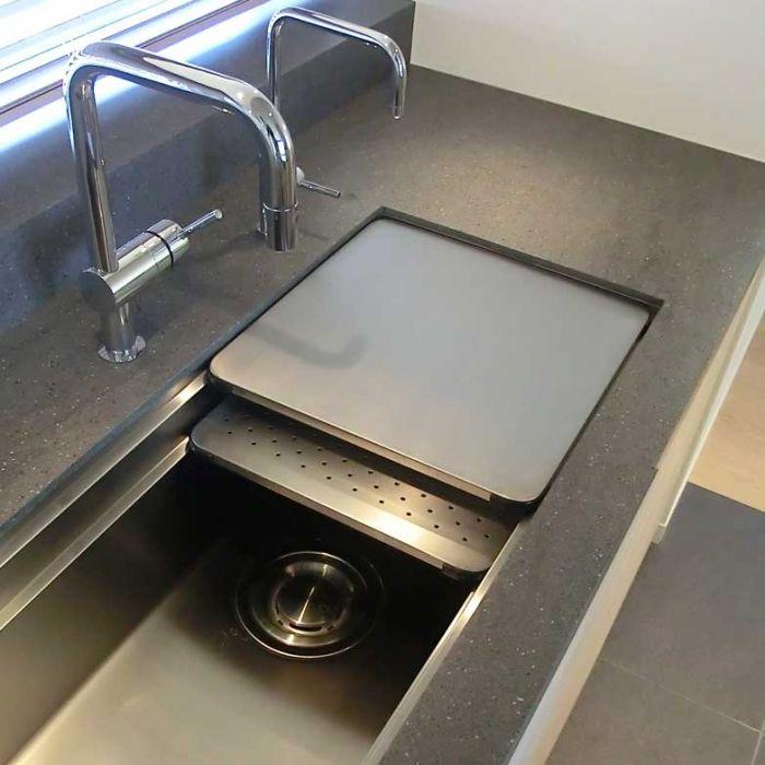 SQUAREステンレスシンク/S004SQ(アンダータイプ) | キッチンパーツ・建築部材の見積・購入|ekreaParts [ エクレアパーツ ]