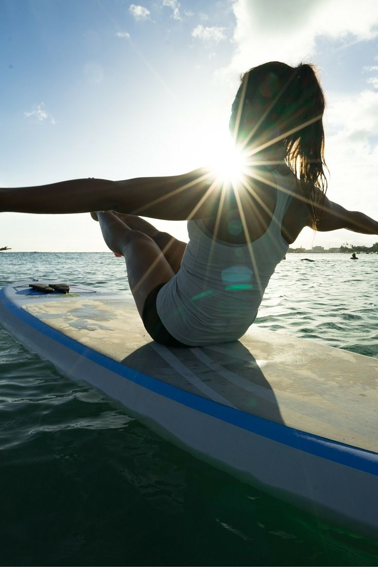 Why a sunset paddle board yoga class should be on everyone's Hawaiian holiday bucket list.