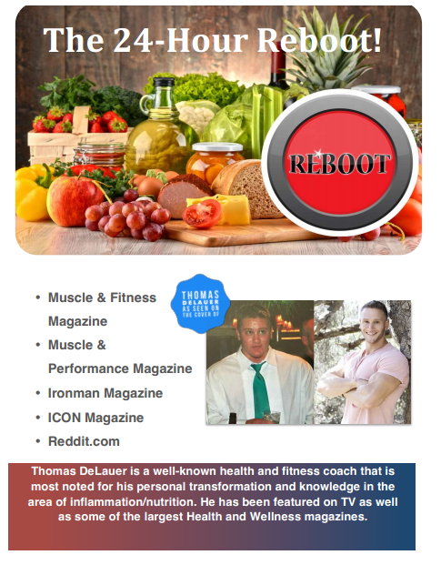 Organic Total Body Reboot Pdf Ebook By Thomas Delauer Download Complete Program Through This Pin Or Read It Online Health Facts Fitness Health Thomas Delauer