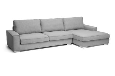 Baxton Studio Brigitte Gray Modern Sectional Sofa | Affordable Modern  Furniture In Chicago