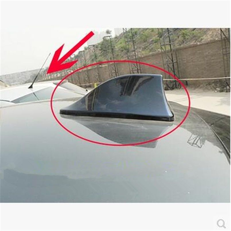 Car Styling Shark Fin Signal Antenna Case For Bmw All Series 1 2 3 4