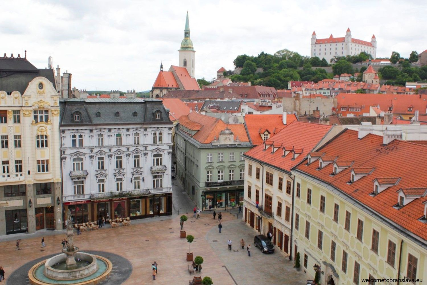 View from the Old Town Hall