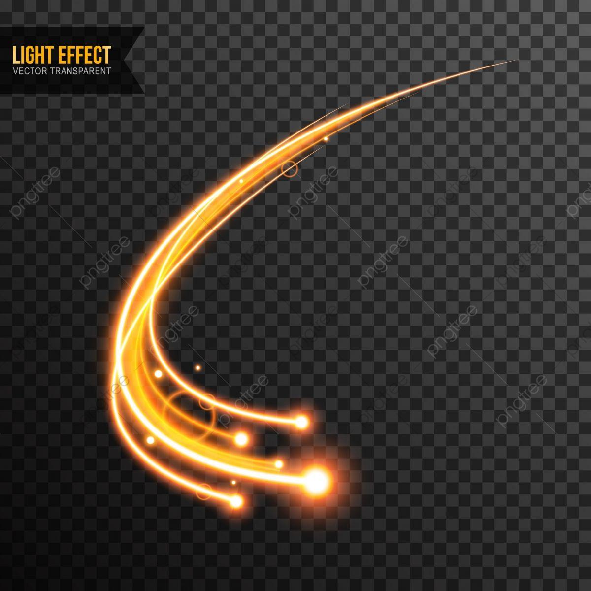 Vetor De Efeito De Luz Brilho Transparente Com Redemoinho De Linha Dourada Leve Efeito Flare Imagem Png E Vetor Para Download Gratuito Graphic Design Background Templates Light Effect Free Vector Graphics