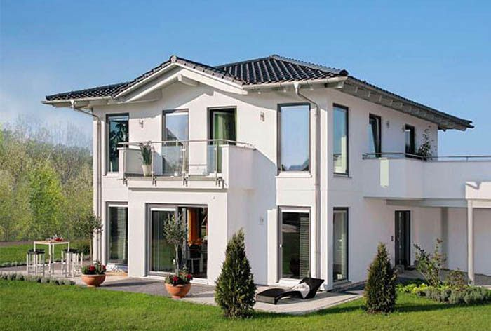 Steel Structural Prefab Villa/Typhoon Resistance Light