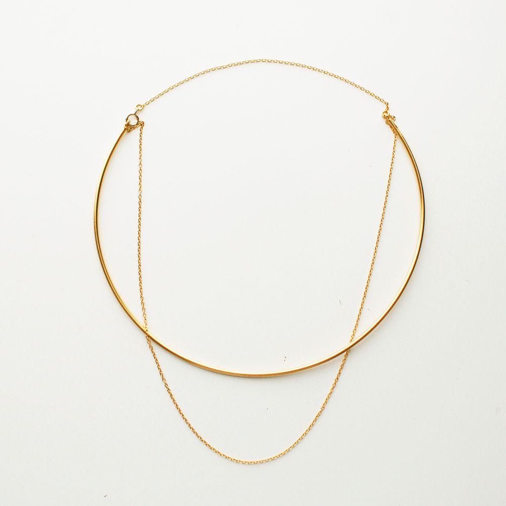Gold - Halskette - Kombination