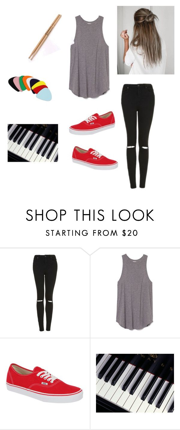 """Untitled #566"" by mmitchell17 on Polyvore featuring Topshop and Vans"