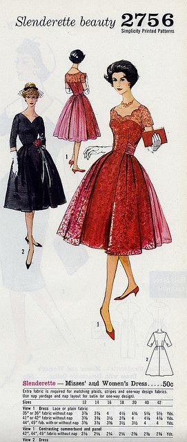 2756 | 1950er, Diy nähen und Hübsch