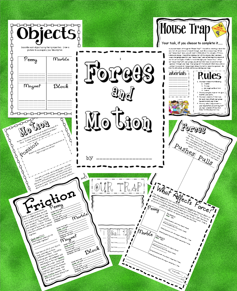 fourth grade science force and motion worksheets 19 fun ideas resources for force and motion. Black Bedroom Furniture Sets. Home Design Ideas