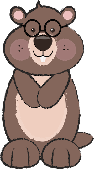 Free Groundhog Clipart by GO Designs. GradeONEderfulDesigns.com ...