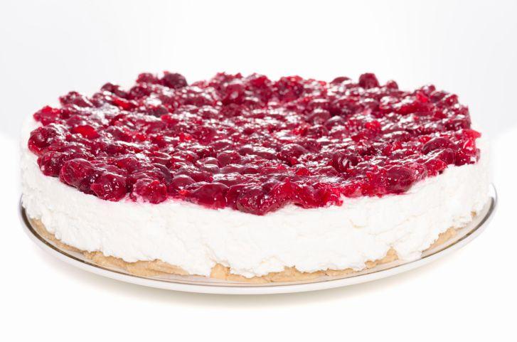 Fresca tarta de cerezas- el gran chef
