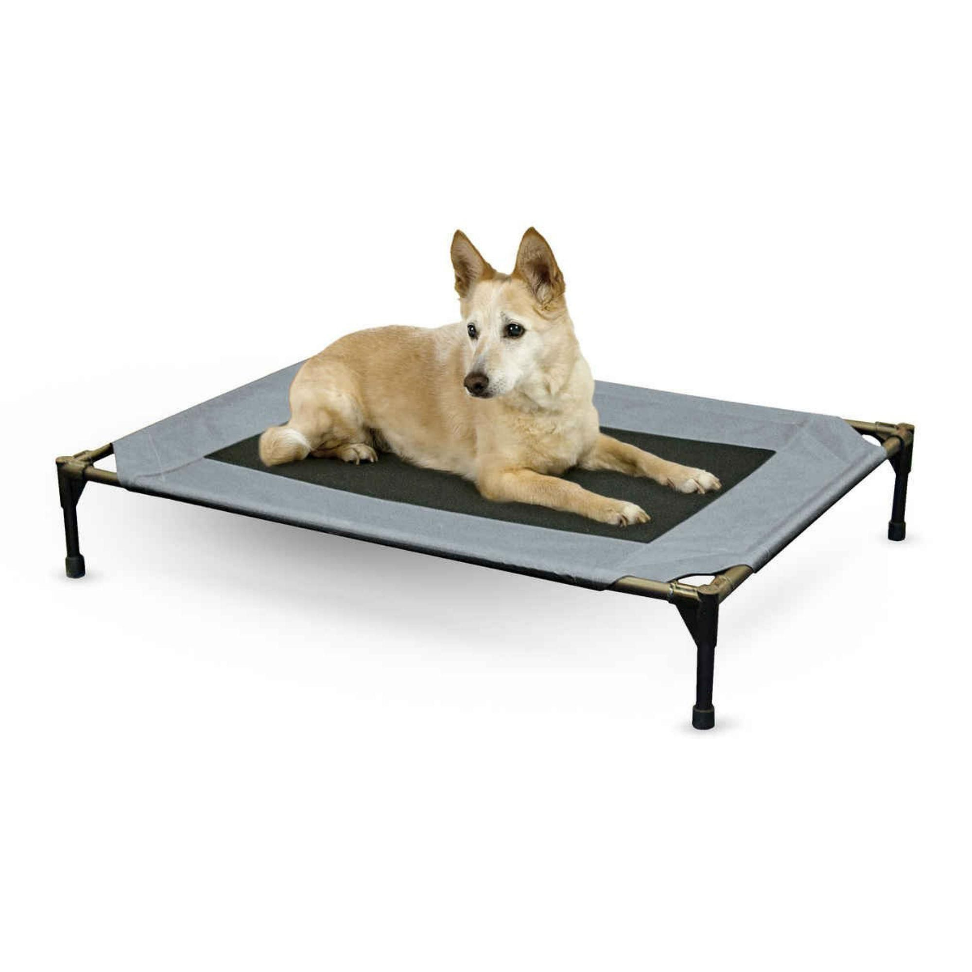 K H Pet Products Original Pet Cot Gray Dog Cots Cool Dog Beds