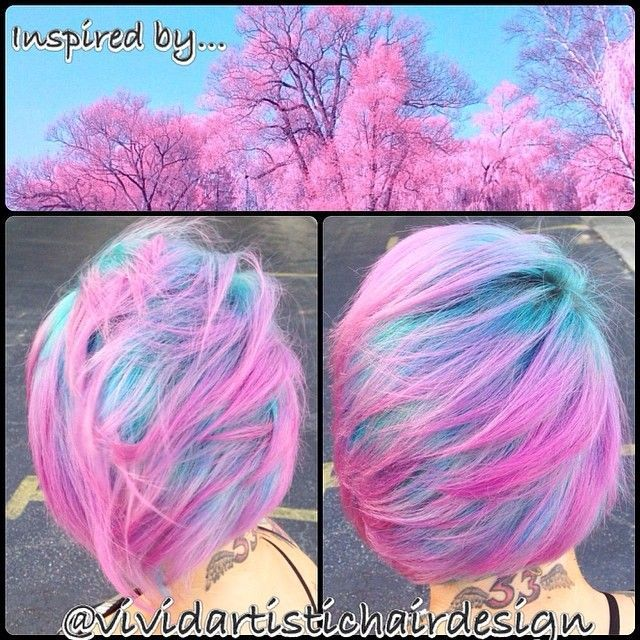 hair lookz cotton candy