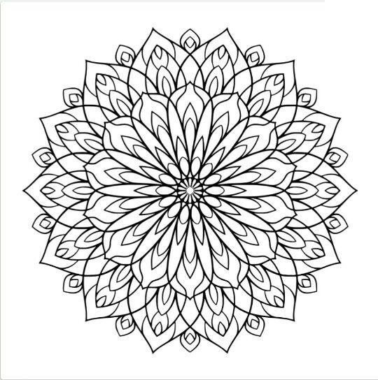 Pin de Nohora Paulina Rodriguez Gonzalez en mandalas | Pinterest ...