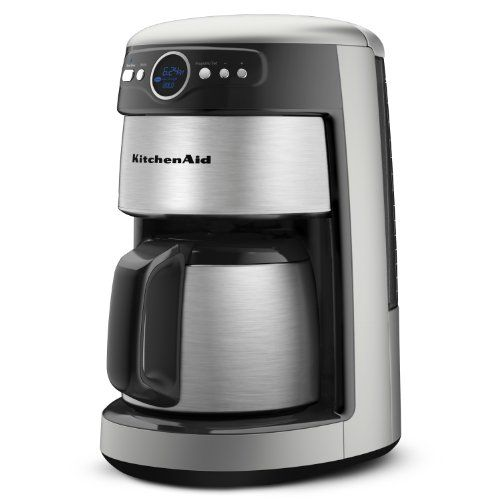 Kitchenaid 12 Cup Thermal Carafe Coffee Maker Countour Silver Kitchenaid Http Www Amazon Co Glass Coffee Maker Kitchen Aid Coffee Maker Coffee Maker Reviews