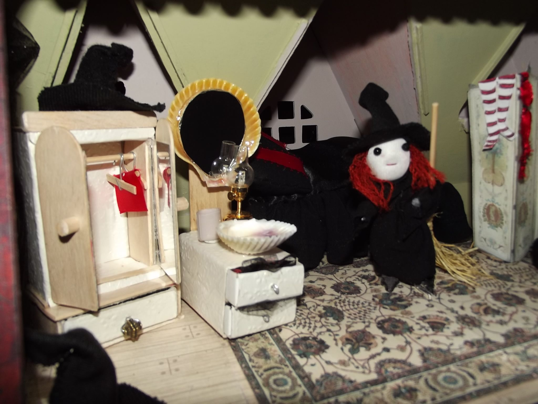 Witch's upstairs bedroom