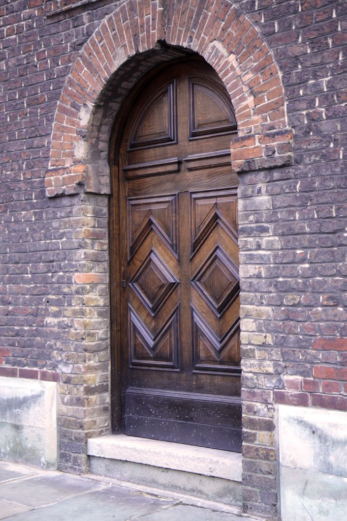 Church door near Tower of London