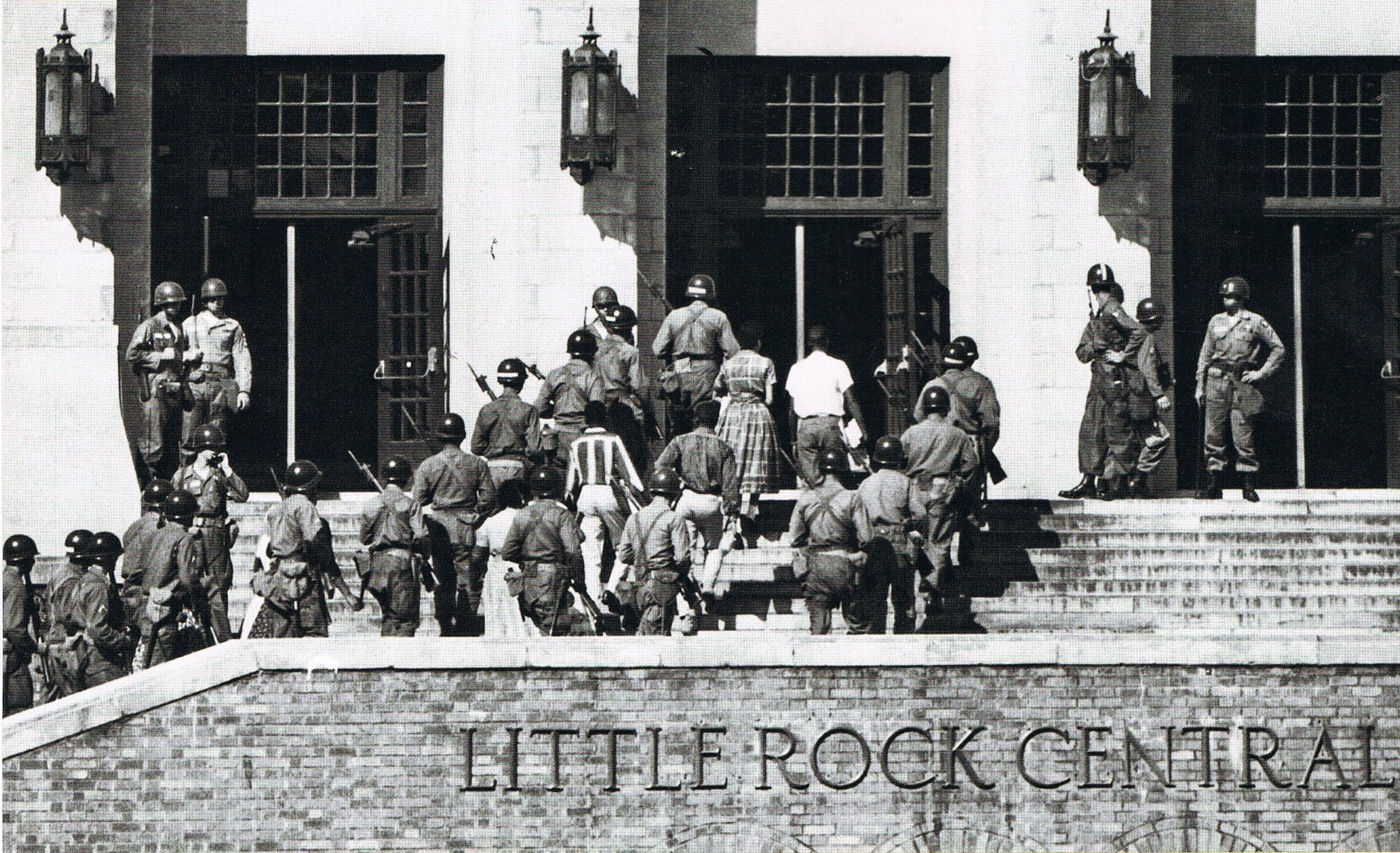 essay on the little rock nine Sixty years ago, a group of nine students walked into a school and changed  america i had a right to be at central, one of them tells time.