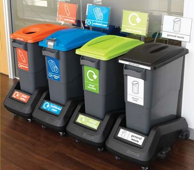 Office Recycling Bins UK. Home Office Design. Office Waste Bins | Office  recycling bins, Recycling bins, Bins