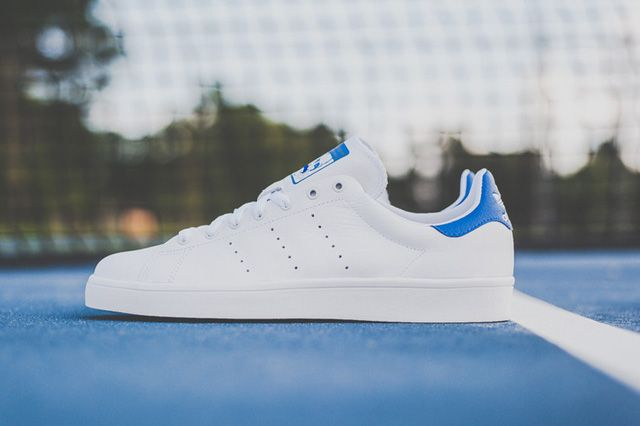 pretty nice c980f 5f45d ADIDAS STAN SMITH VULC (WHITE ROYAL)   Sneaker Freaker