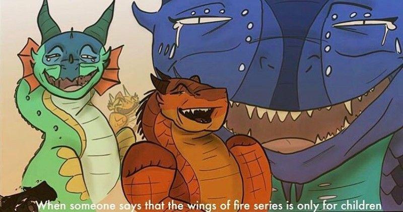 Hahahahhahah dies inside wings of fire