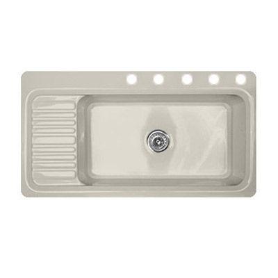 Acrylic Kitchen Sink 41 X 22 Single Bowl With Drainboard 5