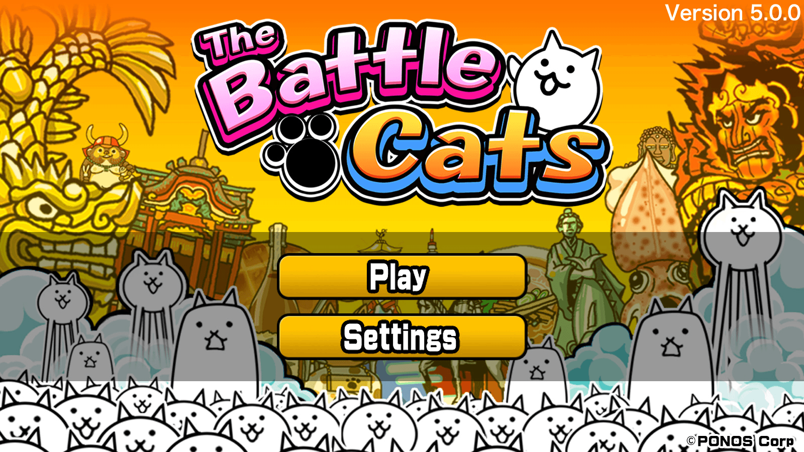 The Battle Cats is a strategy game developed by PONOS. The