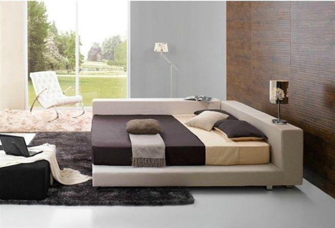 Deion Contemporary Bed Frame 845 Modern Bed Frame Modern Bed